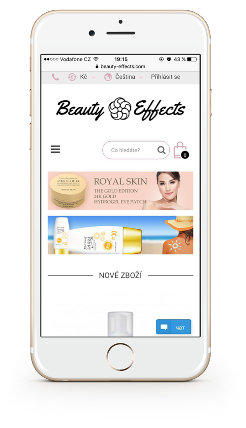 Homepage Beauty Effects