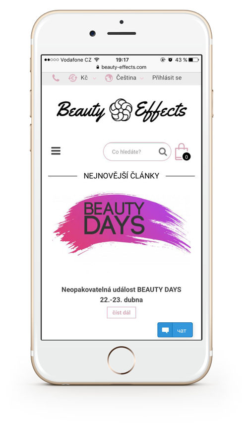 Novinky Beauty Effects