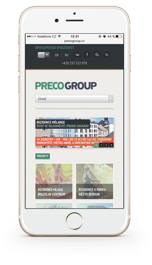 Homepage Preco Group